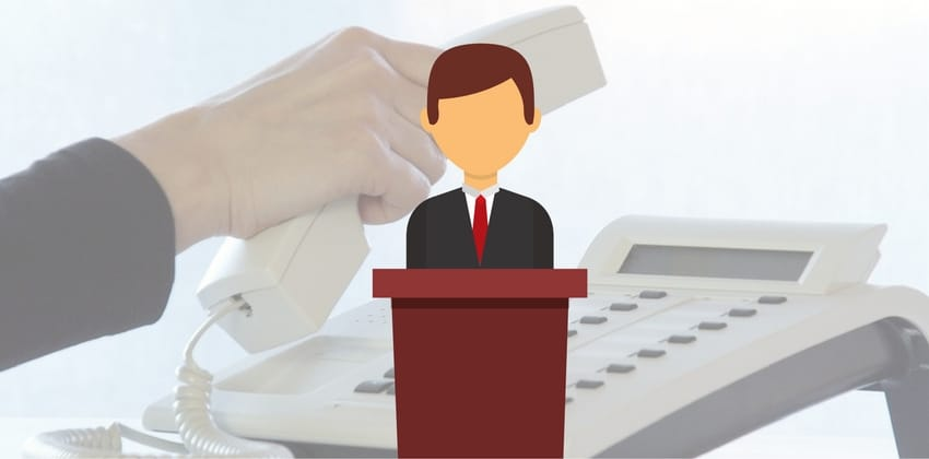 Mensajes de voz en campañas políticas