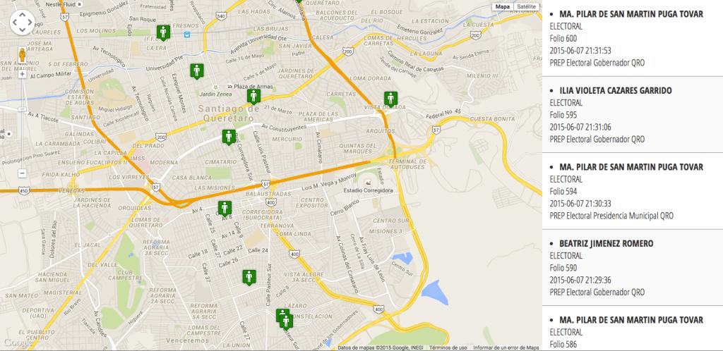 geolocalización de personal en campo sunetmovil - módulo live