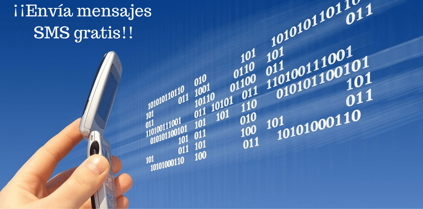Envía mensajes SMS gratis hoy